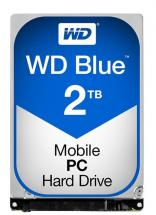 "WD Blue 2.5"" Internal HDD SATA 6GB/s - 2TB, 5400RPM"
