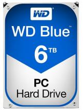 "WD Blue 3.5"" Internal HDD SATA 6GB/s - 6TB, 5400RPM"