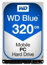 "WD Blue 2.5"" Internal HDD SATA 6GB/s - 320GB, 16MB Cache, 5400RPM"