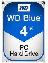 "WD Blue 3.5"" Internal HDD SATA 6GB/s - 4TB, 5400RPM"