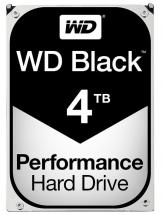 "WD Black 3.5"" Performance Internal HDD SATA 6Gb/s - 4TB"