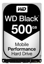 "WD Black 2.5"" Mobile Internal HDD SATA 6GB/s - 500GB, 7200RPM"