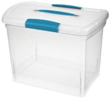 Sterilite ShowOffs Nesting Storage Box, Large