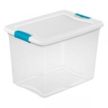 Sterilite Latching Storage Box, 25-Qt.
