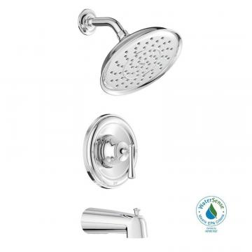 Moen Ashville Single-Handle Bath/Shower Faucet in Chrome