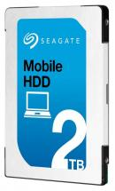 "Seagate 2.5"" Laptop & Mobile Internal HDD SATA 6GB/s - 2TB, 7mm"