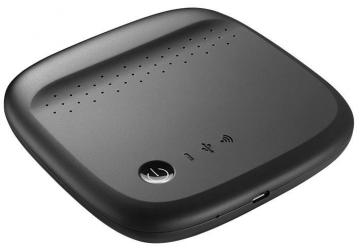 Seagate Wireless Mobile Storage, Black - 500GB
