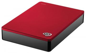 Seagate Backup Plus USB 3.0 Portable Hard Drive - 4TB, Red
