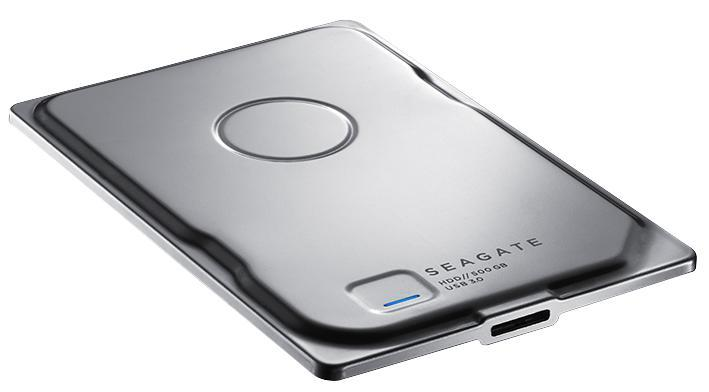 Seagate Seven USB 3.0 Portable Hard Drive - 500GB