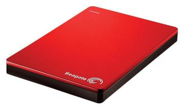 Seagate Backup Plus USB 3.0 Portable Hard Drive - 2TB, Red