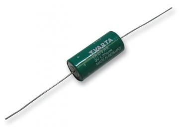 Varta 3V 1.35Ah Li-Mn ⅔AA Battery - Axial Leaded