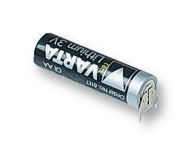 Varta 3V 2Ah Li-Mn AA Battery - PCBD Mount