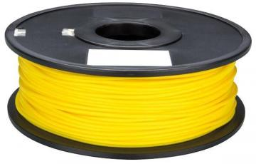 Velleman PLA Filament Reel 1.75mm 1kg Yellow