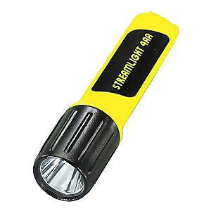 Streamlight Industrial LED Handheld Flashlight, Plastic, Maximum Lumens Output: 100, Yellow