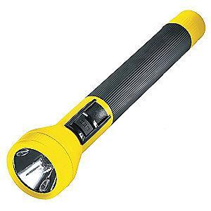 Streamlight Industrial Halogen Handheld Flashlight, Plastic, Maximum Lumens Output: 120, Yellow