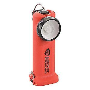 Streamlight Industrial LED Handheld Flashlight, Nylon, Maximum Lumens Output: 175, Orange
