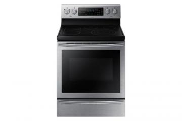 Samsung 5.9 cu. ft. Free-Standing Electric Range with Self-Cleaning and Flex Duo Oven