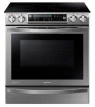 Samsung Chef Collection 5.8 cu. ft. Slide-in Induction Range with Flex Duo Oven in Stainless Steel