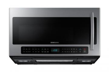 Samsung 2.1 cu. ft. Over-the-Range Microwave Hood Combo with Ceramic Cavity in Stainless Steel