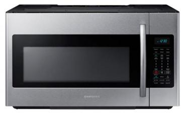 Samsung 1.8 cu. ft. Over-the-Range Microwave Hood Combo with Ceramic Cavity in Stainless Steel