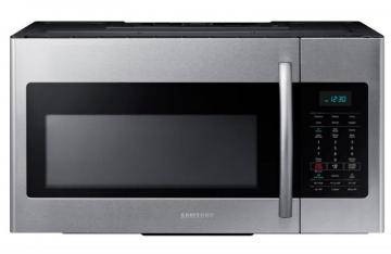 Samsung 1.7 cu. ft. Over-the-Range Microwave Hood Combo in Stainless Steel