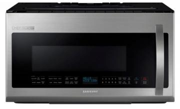 Samsung Chef Series 2.1 cu. ft. Over-the-Range Microwave Hood Combo with Ceramic Cavity