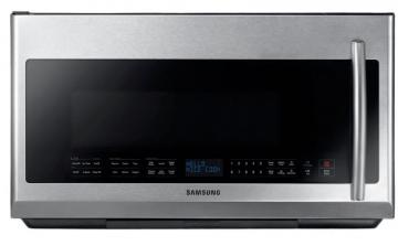 Samsung 2.1 cu. ft. Over-the-Range Microwave Hood/Fan Combo in Stainless Steel