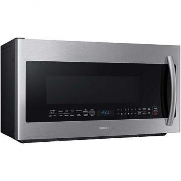 Samsung 900-Watt 2.1 cu. ft. Over-the-Range PowerGrill Microwave - Stainless Steel