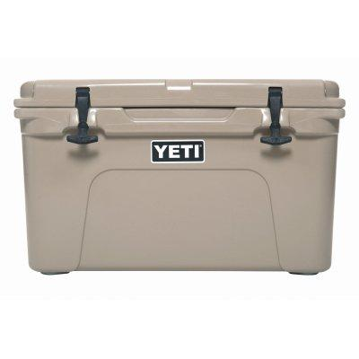 Yeti Tundra 45 Cooler, 26-Can Capacity, Tan