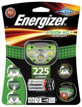 Energizer Vision HD+ LED Head Torch, 225 Lumen