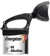 Energizer Black LED Expert Torch With Attachable 6V LR820 Alkaline Lantern Battery