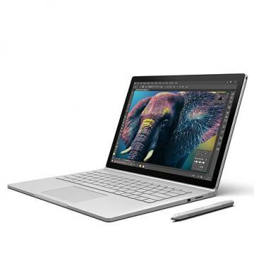 "Microsoft Surface Book 13.5"" HD Touchscreen, Intel Core i5 8GB RAM, Windows 10 Pro Laptop Bundle"