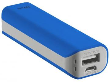 Trust Primo Power Bank 2200 Portable Charger - Blue