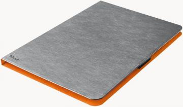 "Trust Aeroo Ultra Thin Folio Stand for 7-8"" Tablets - Grey/Orange"
