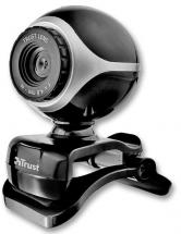 Trust Exis Webcam, Black/Silver - 640x480
