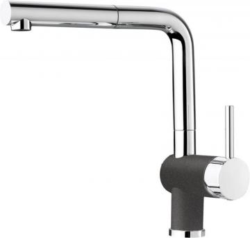 Blanco Posh, Pull Out, Single Spray Faucet, Cinder
