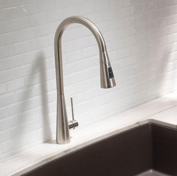 Blanco Ice Faucet - Dual Spray - Stainless Steel