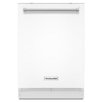 "KitchenAid 24"" Dishwasher with ProScrub Option in White"