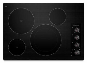 "KitchenAid Architect Series II 31"" Electric Cooktop in Black"