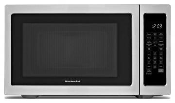 KitchenAid 1.5 cu.ft. Countertop Convection Microwave Oven in Stainless Steel