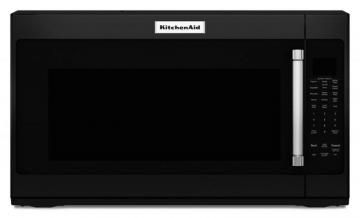 KitchenAid 2.0 cu. ft. 950 W Microwave with Sensor Functions in Black