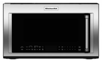 KitchenAid 1.9 cu. ft. 1000 W Microwave with High-Speed Cooking in Stainless Steel