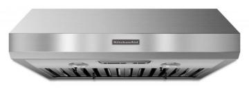 "KitchenAid 30"", 600 CFM Commercial Style Range Hood in Stainless Steel"
