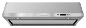"KitchenAid 36"", 600 CFM Under Cabinet Range Hood in Stainless Steel"