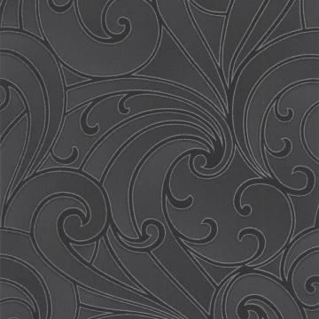Graham & Brown Saville Black/Charcoal Wallpaper