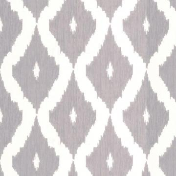 Graham & Brown Kellys Ikat Grey/White Wallpaper