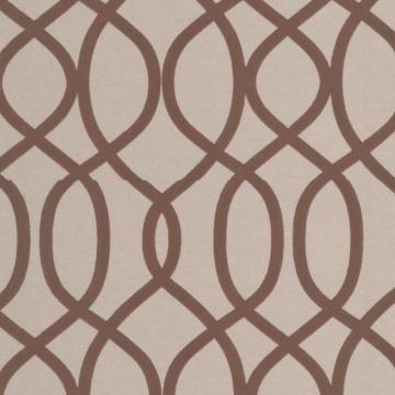 Graham & Brown Knightsbridge Flock Beige/Brown Wallpaper
