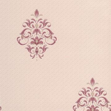Graham & Brown Clemency Burgundy/Cream Wallpaper