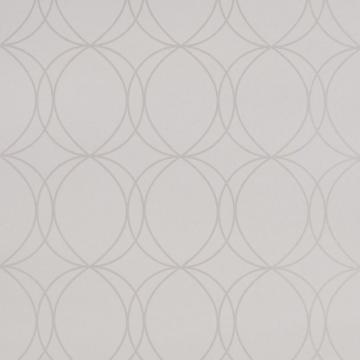 Graham & Brown Savoy White Mica Wallpaper