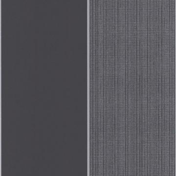 Graham & Brown Bold Stripe Charcoal/Silver Wallpaper